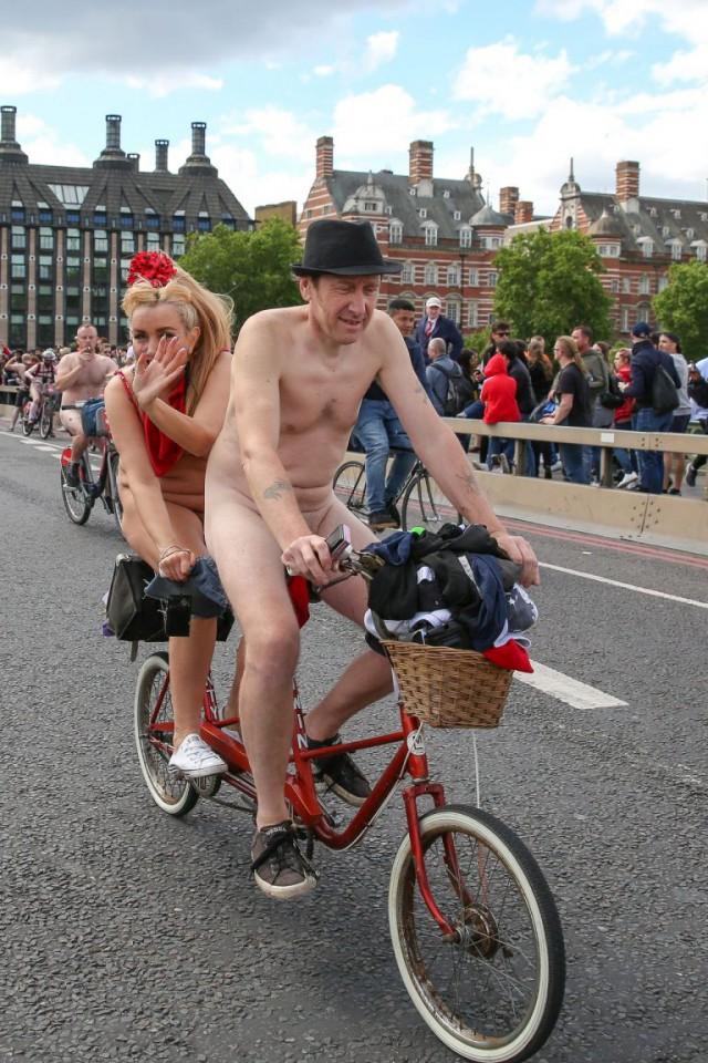 Ежегодный велопробег в Англии