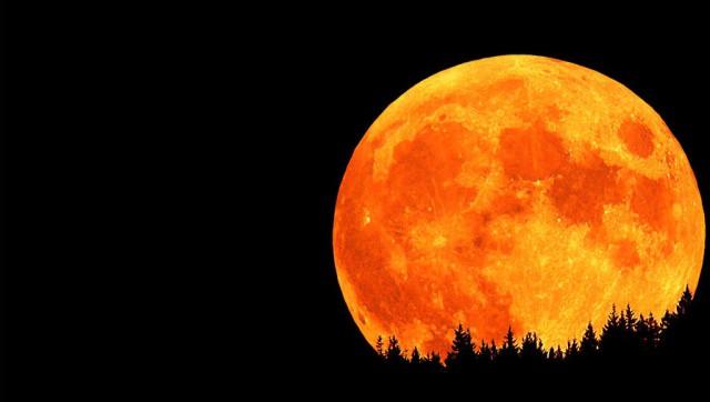 """28 сентября суперлунное затмение: """"Кровавая Луна"""""""