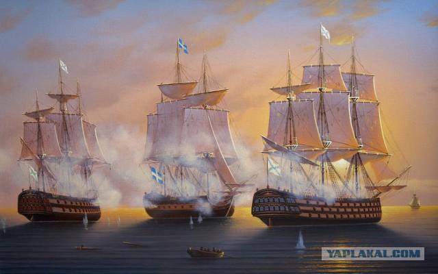Как русский рыбак шведов победил