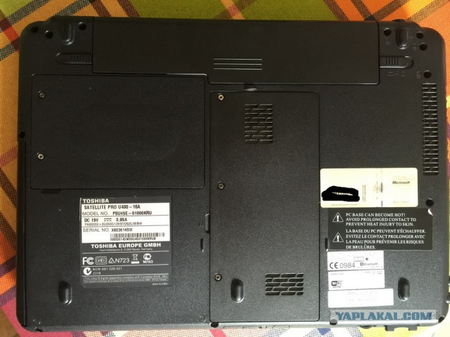 ноут Toshiba satellite pro u400 13.3