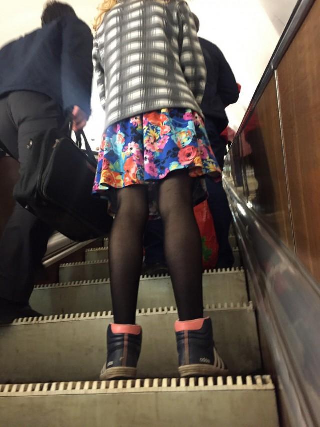 Свежая подборка модников из нашего метрополитена