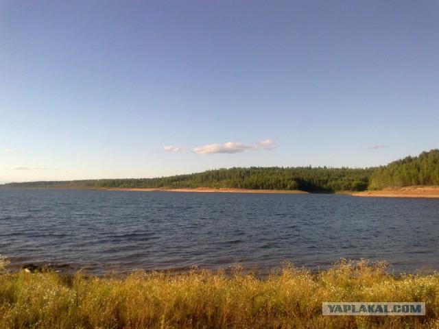 Ностальгия по лету или Рыбалка на Братском водохранилище - 2