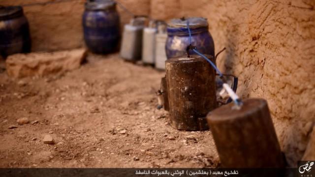 Боевики ИГИЛ взорвали храм Ваала в Пальмире