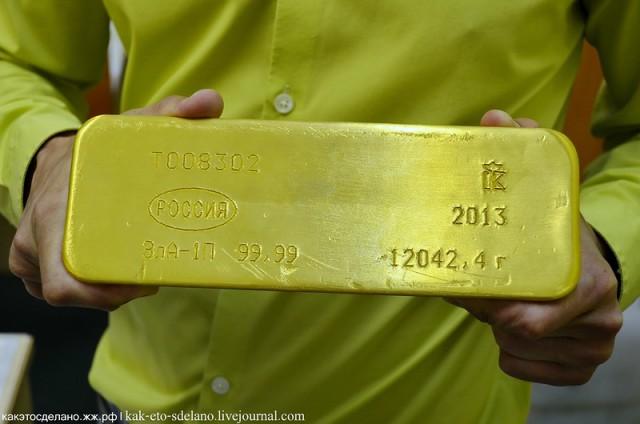 Как делается 585 проба золота