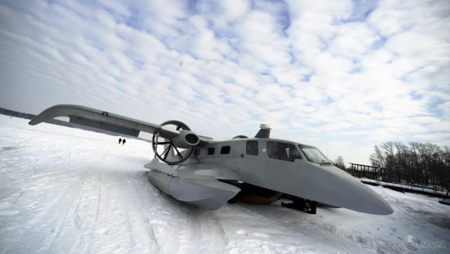 В Якутии уже летают экранопланы. Будущее наступило
