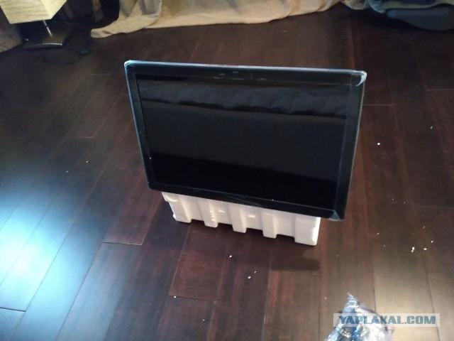 """Продам телевизор/LCD монитор 22"""" (новый)"""