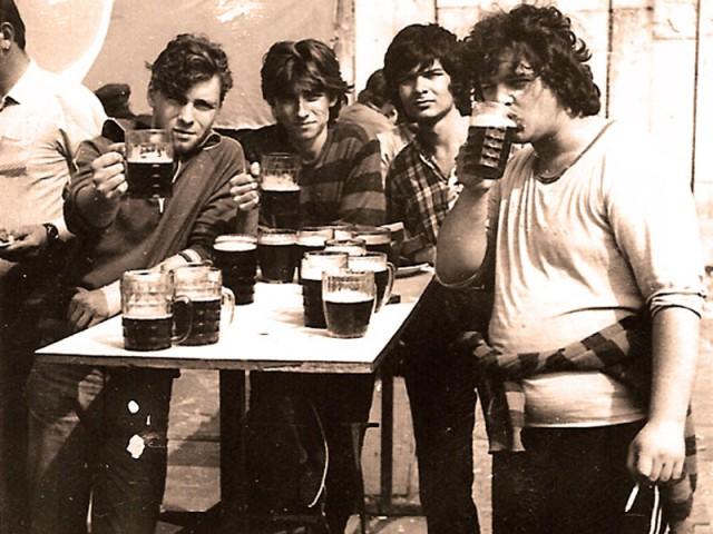 Советское разливное пиво