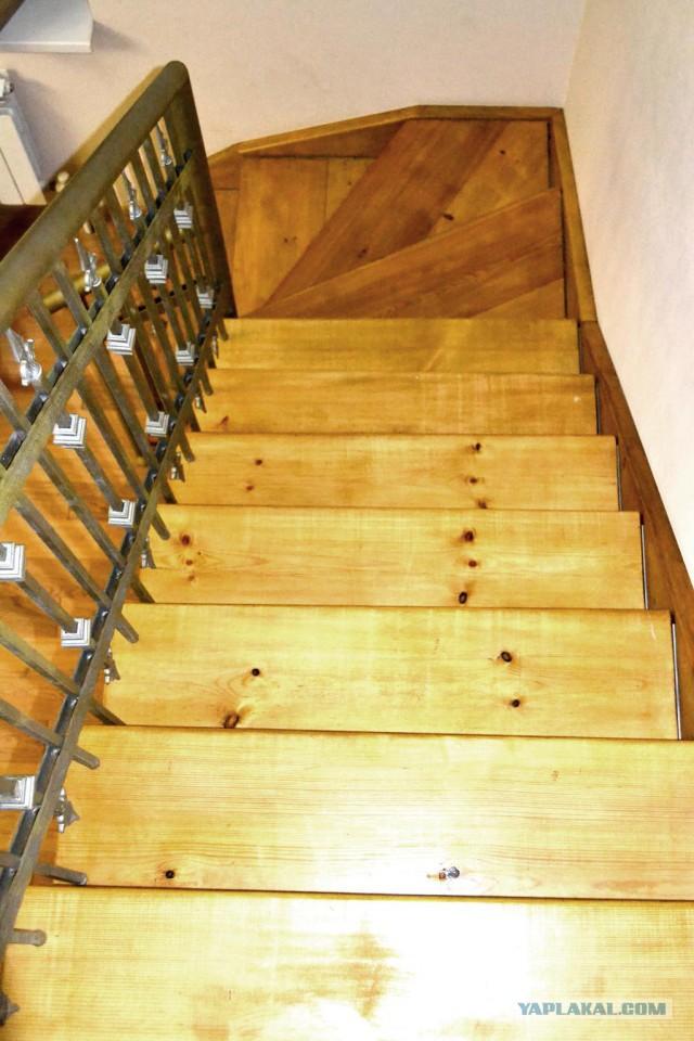 Антикризисная лестница своими руками.