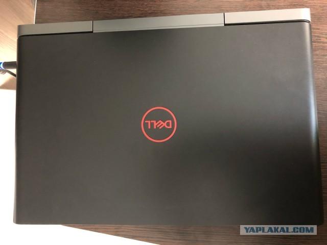 Млщные ноутбуки Dell Core i7 7700HQ + GTX 1050Ti