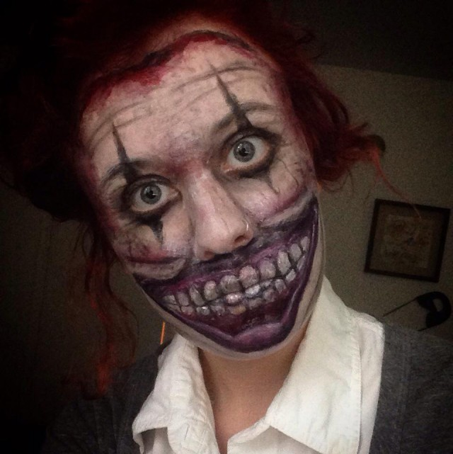 Creepy face