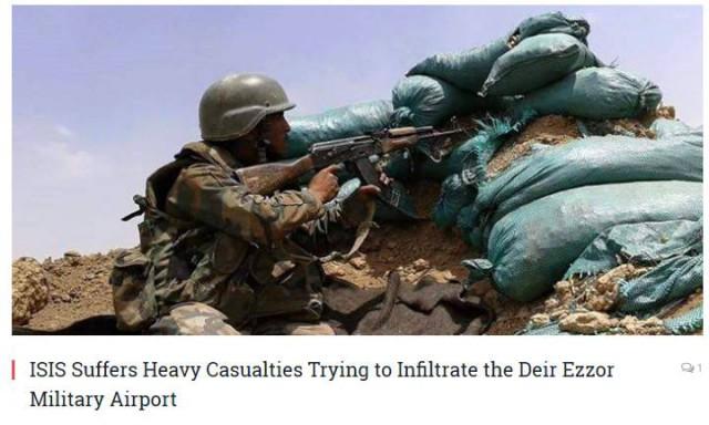 27 боевиков ИГИЛ убиты при штурме авиабазы в Сирии