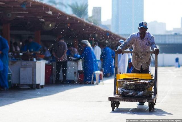 Рыбный рынок в Шардже