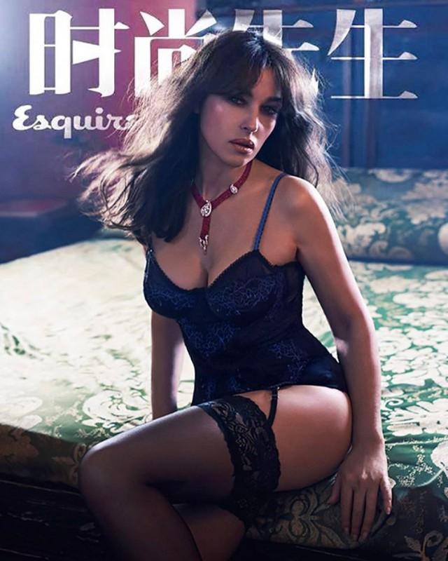 52-летняя Моника Беллуччи обнажилась для обложки китайского Esquire