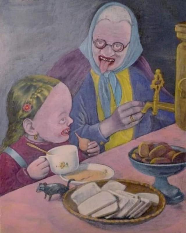 "Капелька легкой наркомании или ""Бабушка и Машенька пьют чай"""