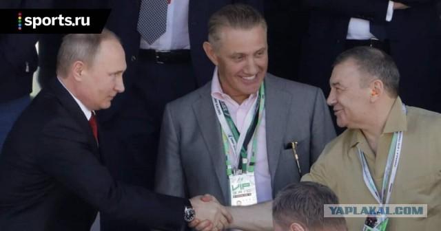 Путин наградил орденами Бориса Ротенберга и Владимира Потанина