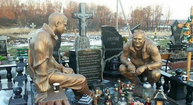 Дизайн кладбищенских памятников выходит на новый уровень