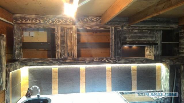 Кухня на веранде (часть 2)