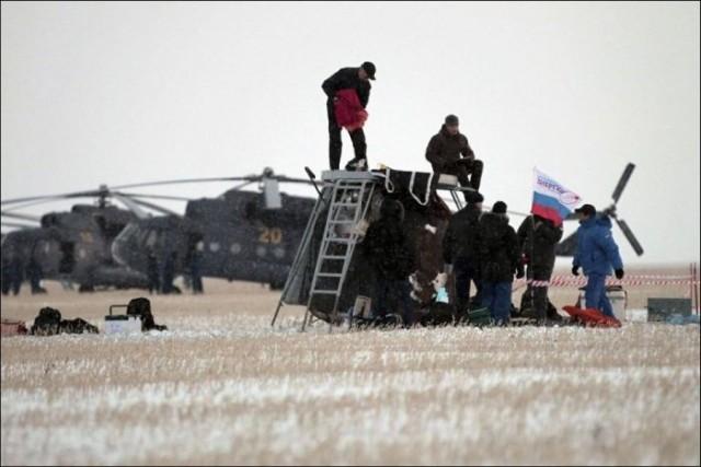 Союз TМА-05М - миссия завершена!