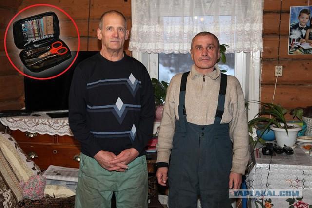 Суровым уральским охотникам чиновники подарили педикюрные наборы