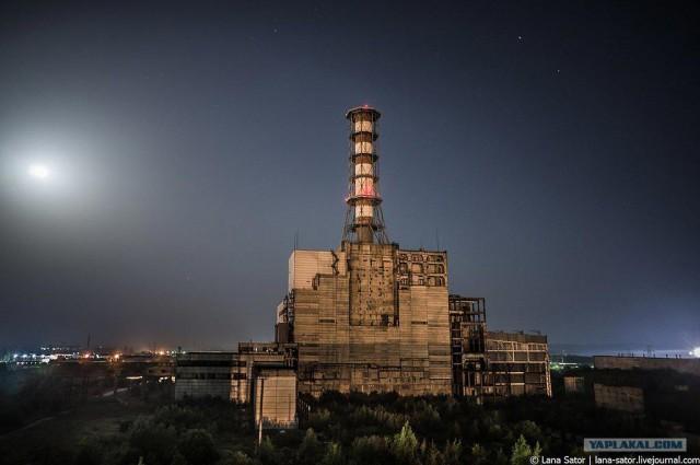 Фоторепортаж о недостроенной и заброшенной АЭС