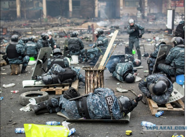 Снайпер ранил более 20 правоохранителей на Майдане