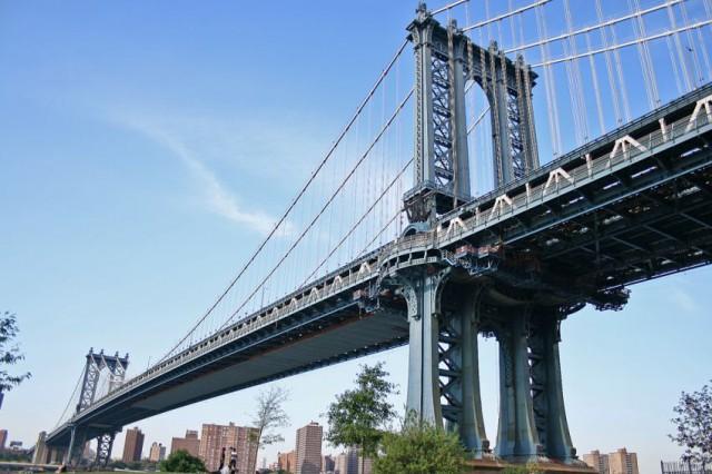 Находка полицейских в Манхэттенском мосту