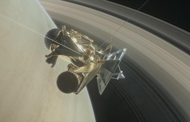 Яркий финал Cassini: станция войдет в атмосферу Сатурна и прекратит существование