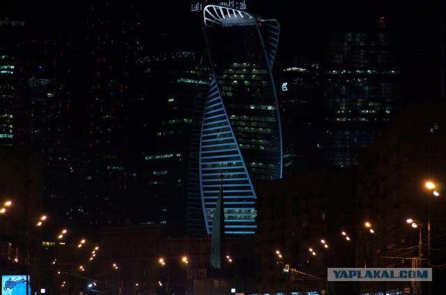Ночные и вечерние фотографии Москвы