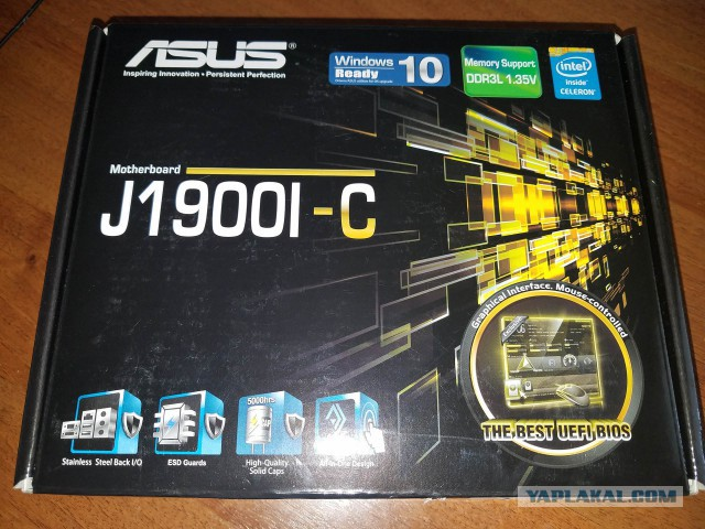 Продается материнская плата  процессором Intel® Celeron® quad-core J1900
