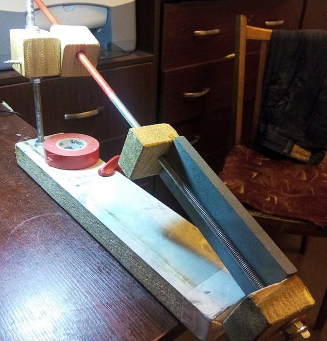Приспособа для заточки ножей своими руками