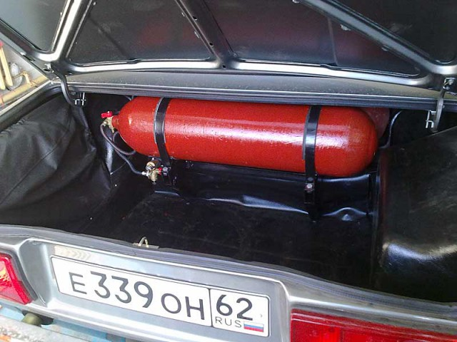 Установки газового оборудования на автомобиль своими руками