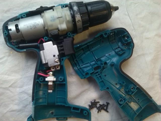 Шуруповерт Makita 6281D, глубокая профилактика вместо ремонта