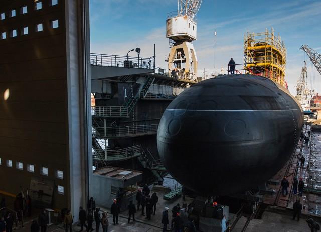 Новая подводная лодка поступает на вооружение ВМФ России