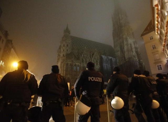 Уроженцев Северного Кавказа задержали в Вене после стрельбы на свадьбе