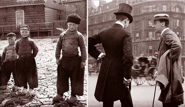 Уникальные фото, Европа в 1904 году