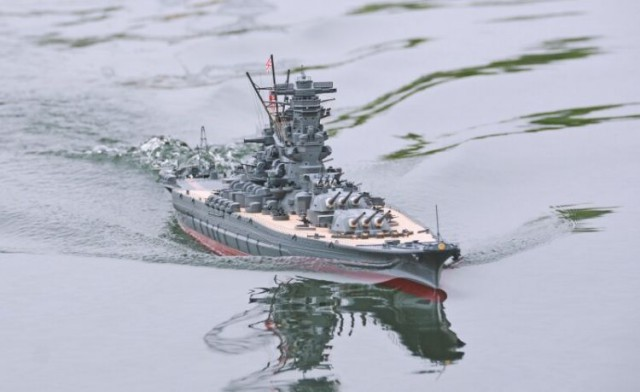 На предприятии «Graupner» по производству радиоуправляемых моделей кораблей в Китае
