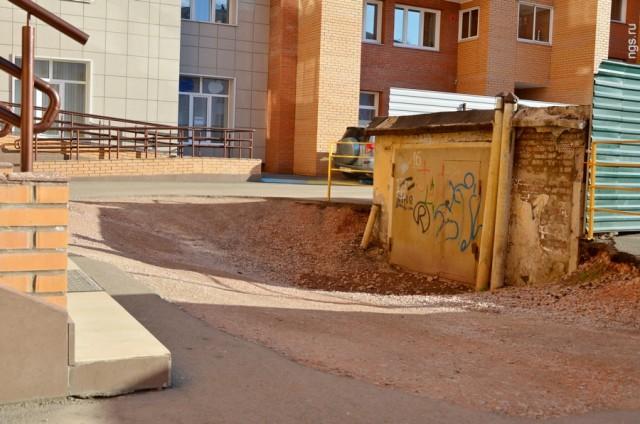 Красноярский пенсионер отказался от 5 млн рублей за мешающий всем гараж