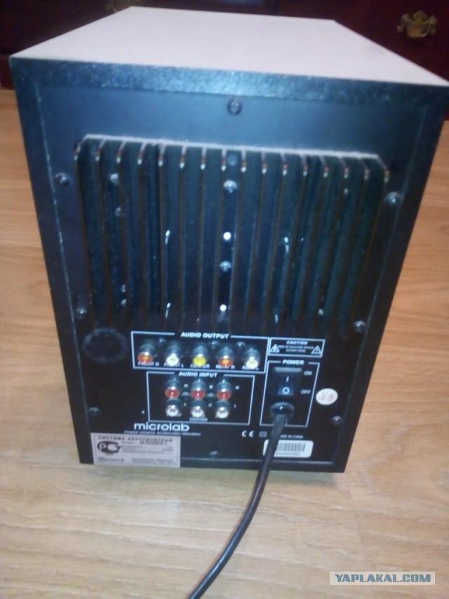 Москва. Аудиоколонки 5.1 Microlab M-1000