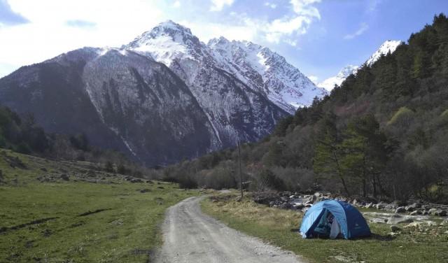 По Северной Осетии-Алании и Кабардино-Балкарии, 2 недели с рюкзаком