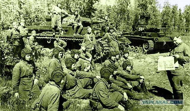 Как наши танкисты добывали себе немецкие танки