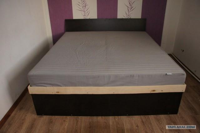 Кровать почти своими руками