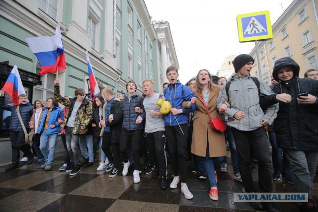 МВД предложило наказывать учителей за участие детей в протестных акциях