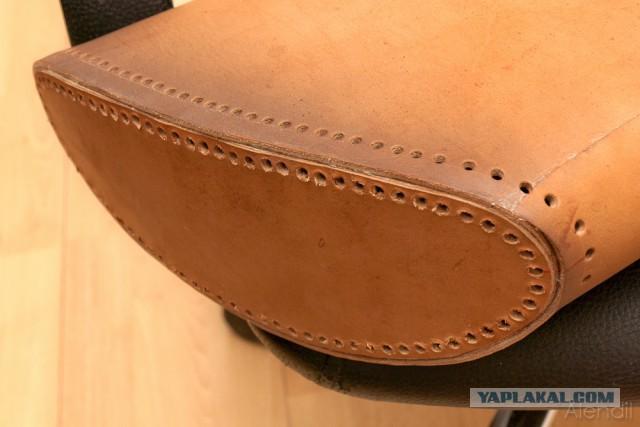Как сделать кожаный колчан