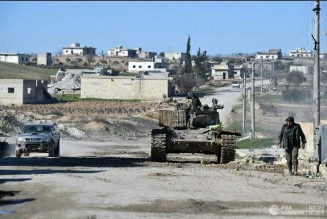 Турция наносит масштабные удары по позициям сирийской армии