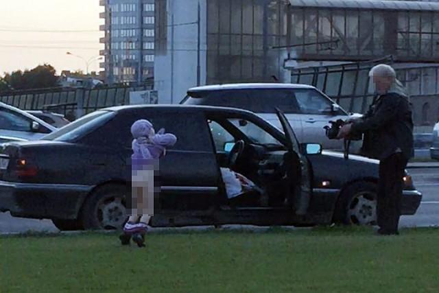 КП разыскивает педофила орудующего в центре Москвы