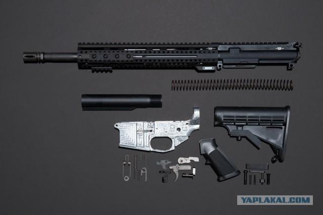 Как я с лёгкостью сделал винтовку AR-15