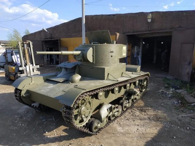 Востановление легкого танка т-26