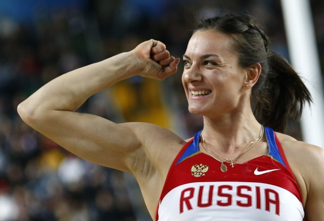 Елена Исинбаева - чемпионка мира 2013 года!