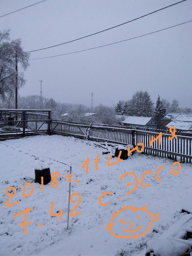 Вот вам, а не лето! В камчатских селах Мильково и Эссо выпал снег