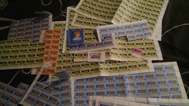 Отдам - поменяю марки почтовые